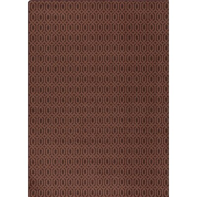 Imagine Brown Area Rug Rug Size: Rectangle 310 x 54