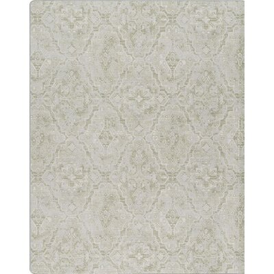 Imagine Green Area Rug Rug Size: 54 x 78