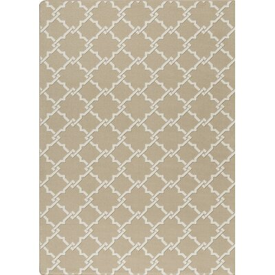 Imagine Beige Area Rug Rug Size: 310 x 54