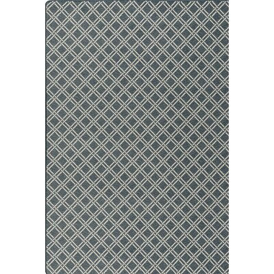 Imagine Blue Area Rug Rug Size: 78 x 109