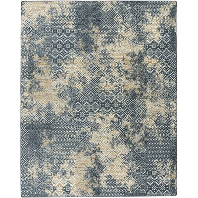 Tate Denim Area Rug Rug Size: Rectangle 109 x 132