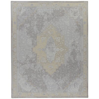 Tate Silver Candlelight Area Rug Rug Size: Rectangle 109 x 132
