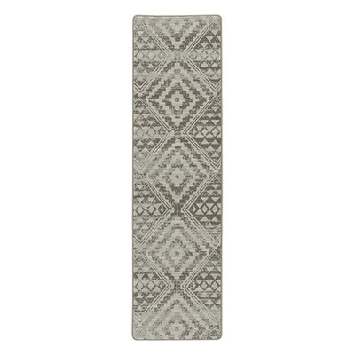 Tate Riverbed Beige Area Rug Rug Size: Runner 21 x 78