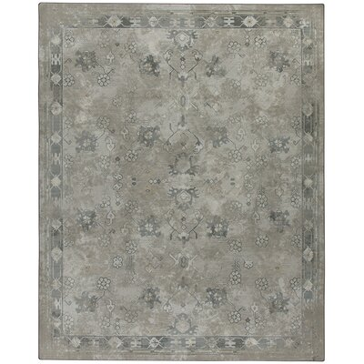 Tate Worn Pewter Area Rug Rug Size: Rectangle 109 x 132