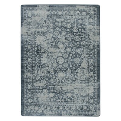 Abba Denim Fade Area Rug Rug Size: Rectangle 54 x 78