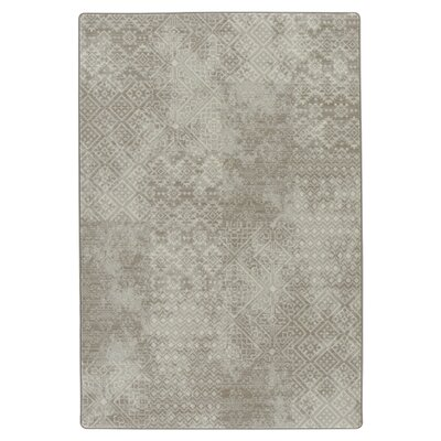 Tate Oyster Area Rug Rug Size: Rectangle 78 x 109