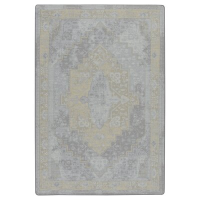 Tate Silver Candlelight Area Rug Rug Size: Rectangle 78 x 109