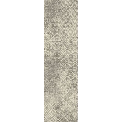 Tate Oyster Area Rug Rug Size: Runner 21 x 78
