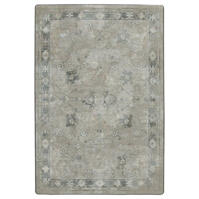 Tate Worn Pewter Area Rug Rug Size: Rectangle 78 x 109