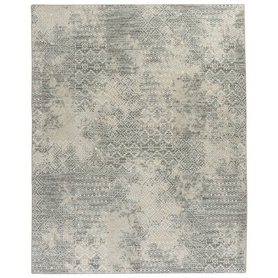 Tate Beige/Green Area Rug Rug Size: Rectangle 109 x 132