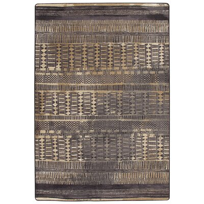 Tate Sahara Gold Area Rug Rug Size: Rectangle 109 x 132