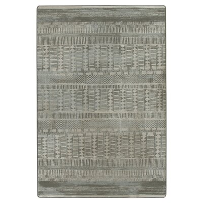 Tate Graystone Area Rug Rug Size: Rectangle 109 x 132