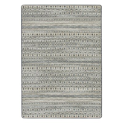 Tate Blue/Beige Area Rug Rug Size: Rectangle 109 x 132