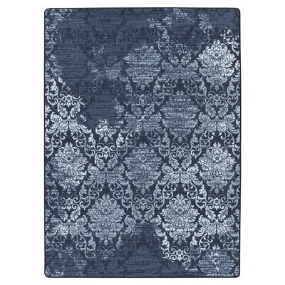 Tate Sapphire Area Rug Rug Size: Rectangle 109 x 132