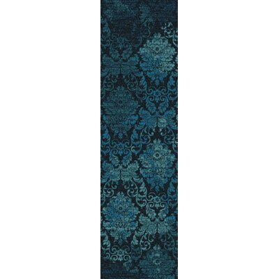 Tate Mystical Teal Area Rug Rug Size: Runner 2'1