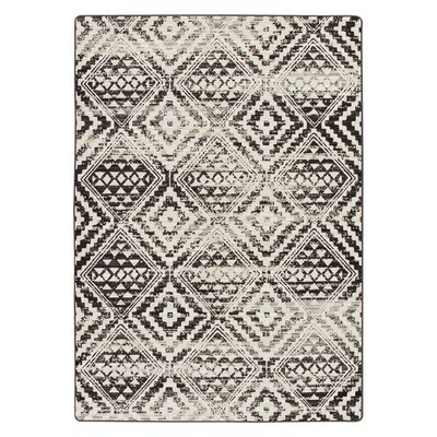 Tate Dark Slate Area Rug Rug Size: Rectangle 54 x 78