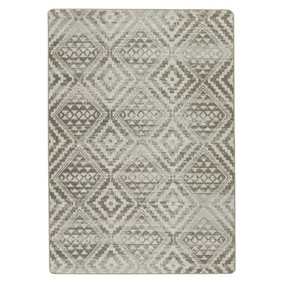 Tate Riverbed Beige Area Rug Rug Size: Rectangle 54 x 78