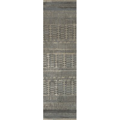 Tate Graystone Area Rug Rug Size: Runner 21 x  78