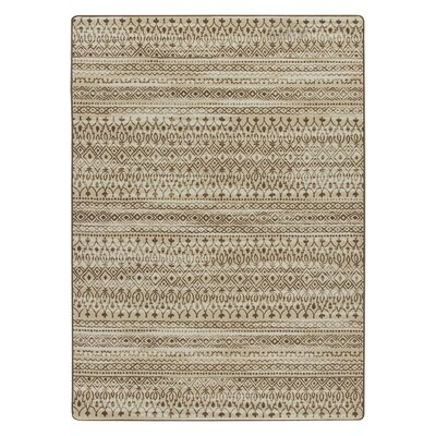 Tate Umber Area Rug Rug Size: Rectangle 78 x 109
