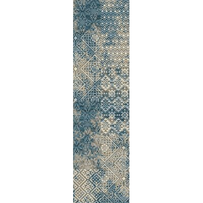 Tate Denim Area Rug Rug Size: Runner 21 x 78