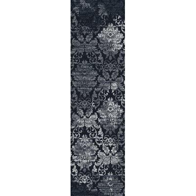 Tate Sapphire Area Rug Rug Size: Runner 21 x 78