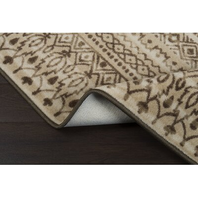 Tate Umber Area Rug Rug Size: Runner 21 x  78