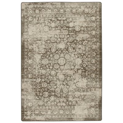 Abba Shaded Khaki Area Rug Rug Size: Rectangle 310 x 54