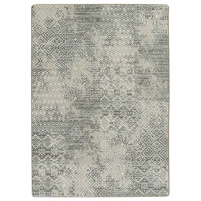 Tate Beige/Green Area Rug Rug Size: Rectangle 54 x 78