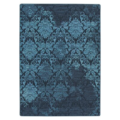 Tate Mystical Teal Area Rug Rug Size: Rectangle 109 x 132