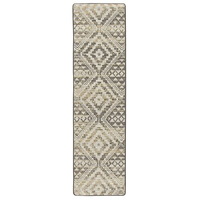 Tate Soft Gold Area Rug Rug Size: Runner 21 x 78