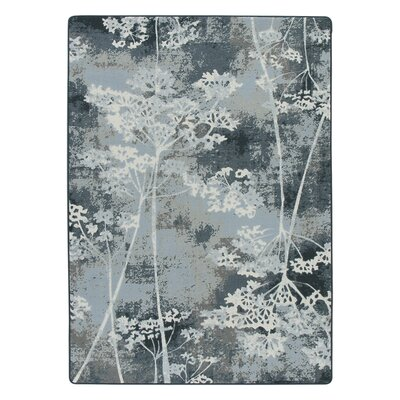 Corell Park Springs Night  Blue Area Rug Rug Size: Rectangle 54 x 78