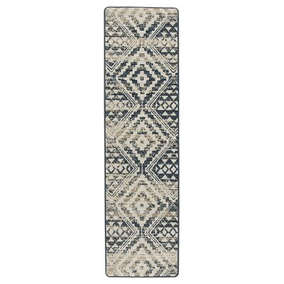 Tate Artisan Blue/Beige Area Rug Rug Size: Runner 21 x 78