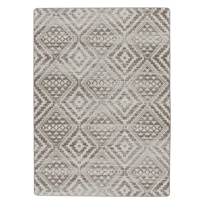 Tate Silversmith Gray Area Rug Rug Size: Rectangle 109 x 132