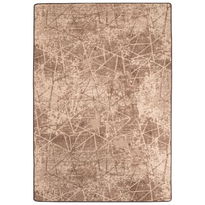 Maldanado Rain Dance Sepia Tan Area Rug Rug Size: Rectange 310 x 54