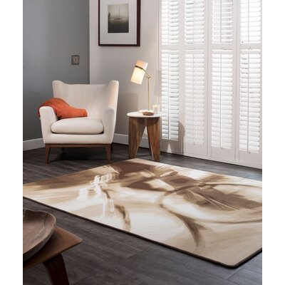 Maldanado Leisure Ride Sepia Tan Area Rug Rug Size: Rectange 54 x 78