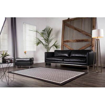 Maldanado Wright Scale Grayscale Gray Area Rug Rug Size: Rectange 310 x 54