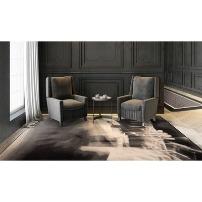 Maldanado Urban Blues Sepia Tan Area Rug Rug Size: Rectange 109 x 132