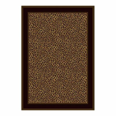 Victorville Leopard Print Zimbala Area Rug Rug Size: Rectangle 109 x 132