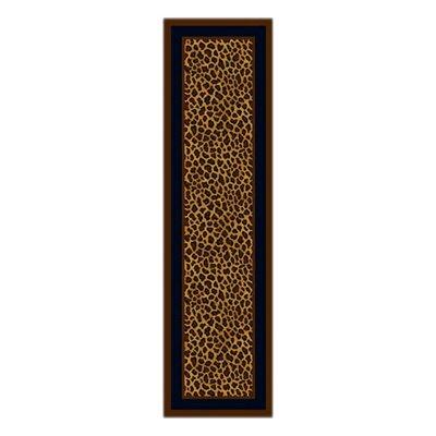 Innovation Leopard Print Zimbala Area Rug Rug Size: Runner 21 x 78