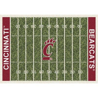 Milliken NCAA Home Field Cincinnati Novelty Rug - Rug Size: 5'4