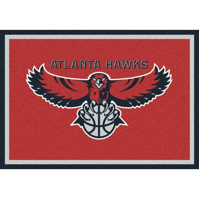 "Milliken NBA Team Spirit Novelty Rug - Rug Size: 3'10"" x 5'4"", NBA Team: Oklahoma City Thunder at Sears.com"