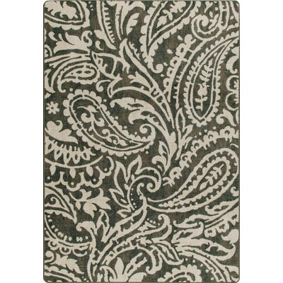 Mix and Mingle Loden Cashmira Rug Rug Size: Rectangle 78 x 109