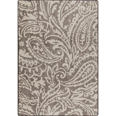 Mix and Mingle Taupe Cashmira Rug Rug Size: 54 x 78