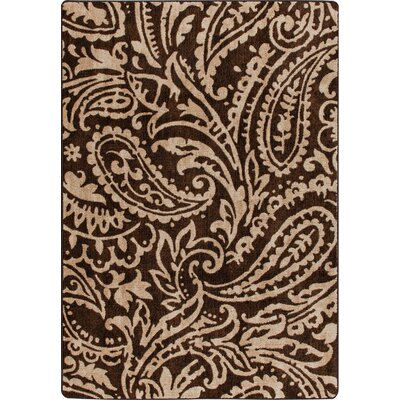 Mix and Mingle Truffle Cashmira Rug Rug Size: 54 x 78