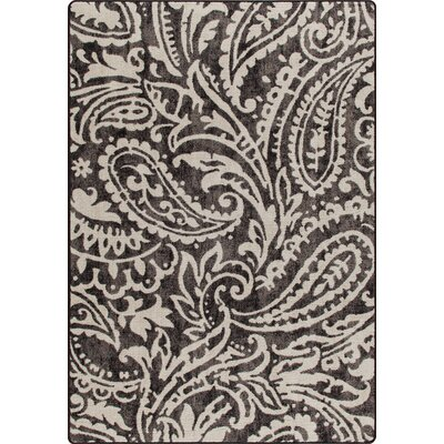 Mix and Mingle Wrought Iron Cashmira Rug Rug Size: Runner 21 x 78