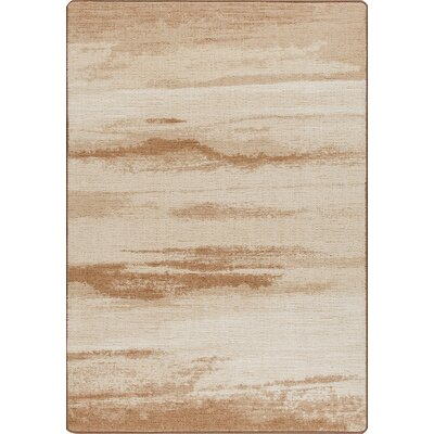 Mix and Mingle Desert Sand Cloudbreak Rug Rug Size: 78 x 109