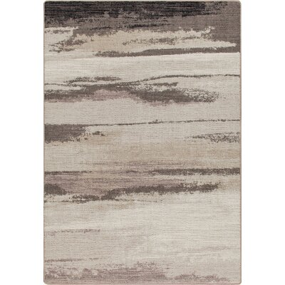 Mix and Mingle Plum Frost Cloudbreak Rug Rug Size: Rectangle 54 x 78