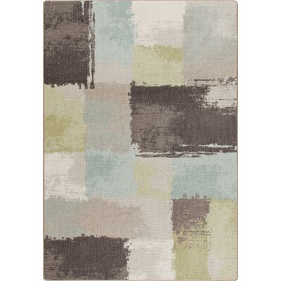 Mix and Mingle Coastal Fair And Square Rug Rug Size: Rectangle 54 x 78