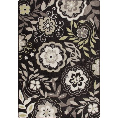 Mix and Mingle Night Bloom Garden Passage Rug Rug Size: Rectangle 78 x 109
