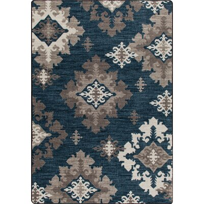 Mix and Mingle Batik Highland Star Rug Rug Size: Rectangle 78 x 109